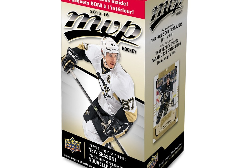Collector's Corner introduction and calendar for 2015-16 hockey card releases