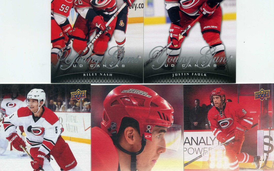 Cyber Monday Canes Cards – Hurricanes Upper Deck Young Guns cards