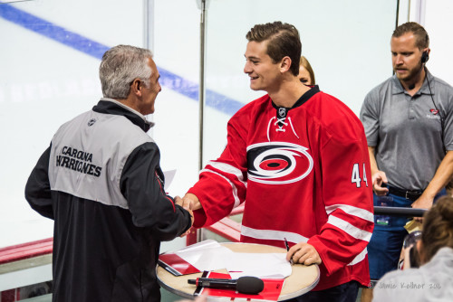 Carolina Hurricanes trade Julien Gauthier to Rangers for defenseman Joey Keane