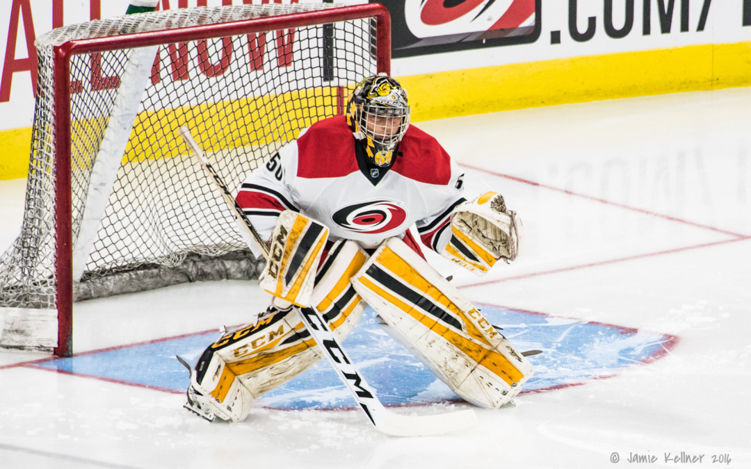 2018 MIDTERMS: Jeremy Helvig (Kingston, Ontario Hockey League)