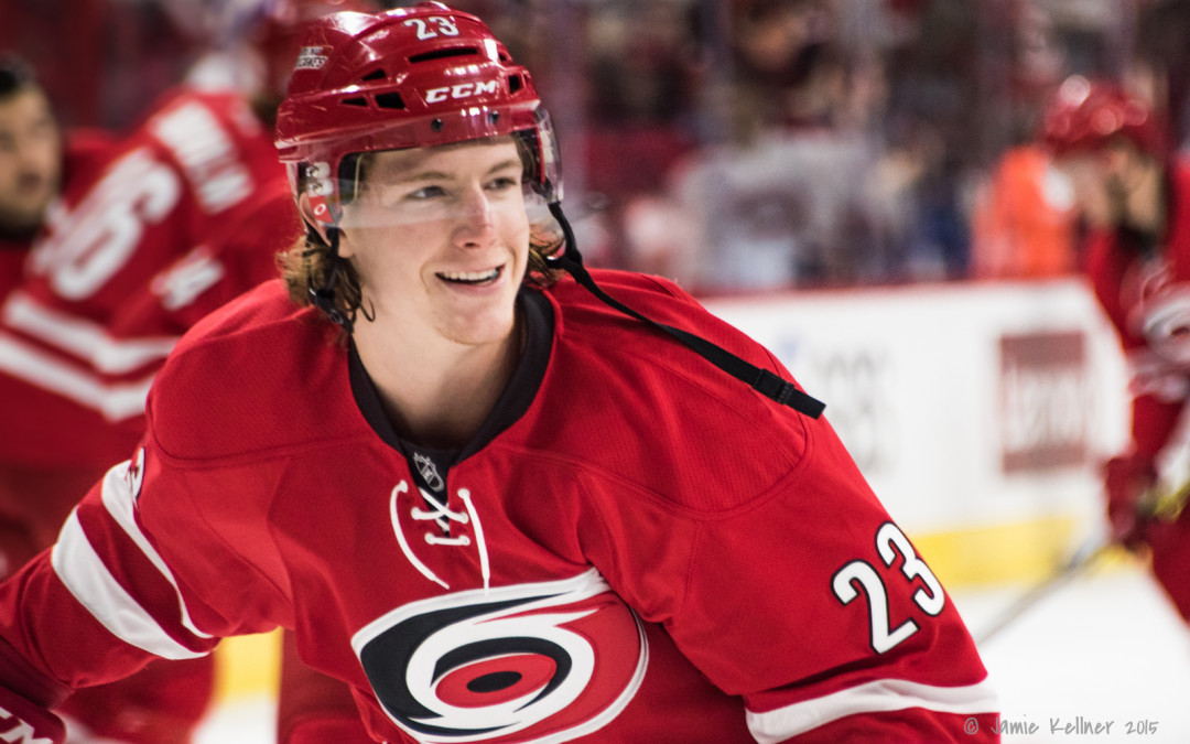 Carolina Hurricanes re-sign Brock McGinn (before arbitration) for 2 years at $2.1 million per year
