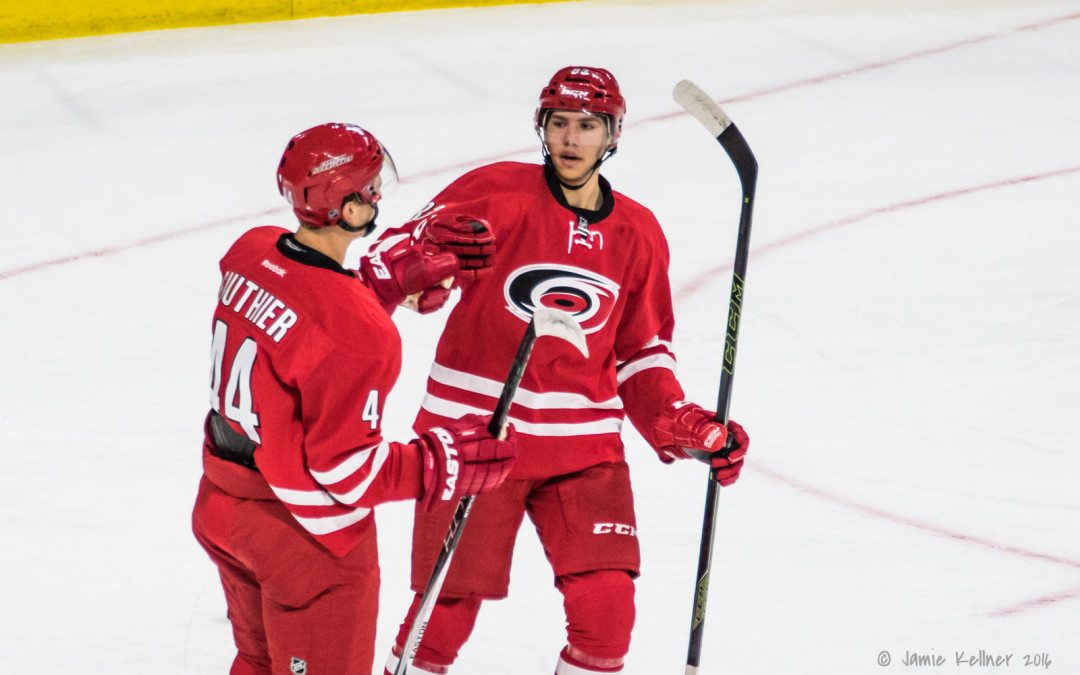 Notes from Carolina Hurricanes prospect camp — Practice #1 (Wed night)