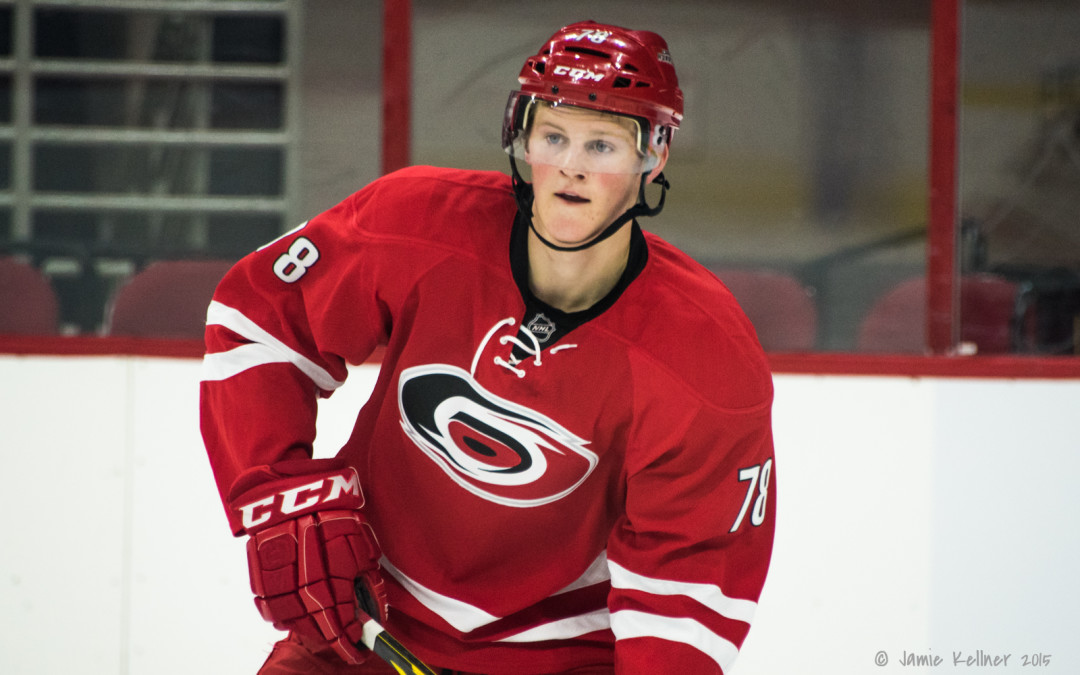 Hurricanes sign Steven Lorentz to entry-level contract