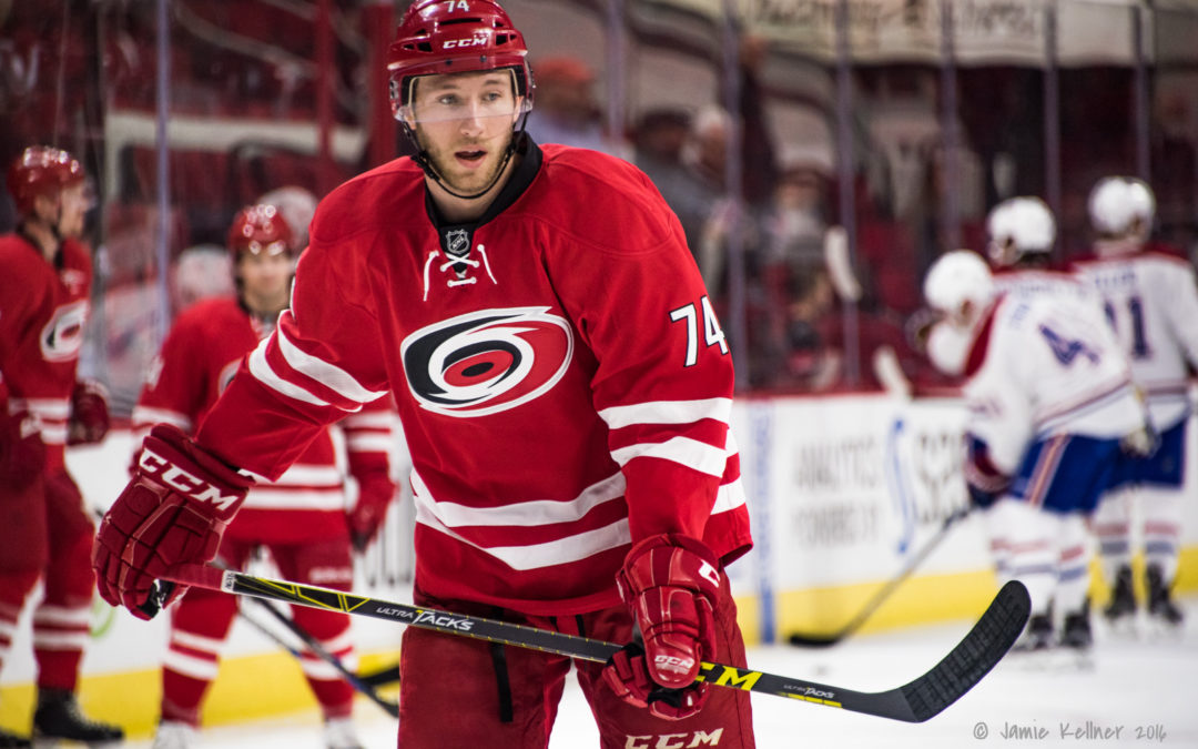 Gm4 @Edm: Jaccob Slavin and opportunistic scoring convert mixed bag overall into 5-3 Canes win