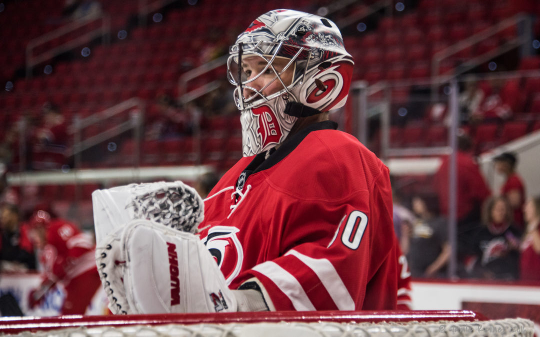 Cam Ward: 2016-17 Carolina Hurricanes report card