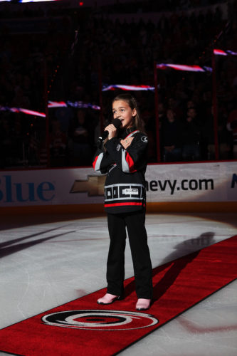 Interview/check in with former Carolina Hurricanes anthem singer KK Fritsch