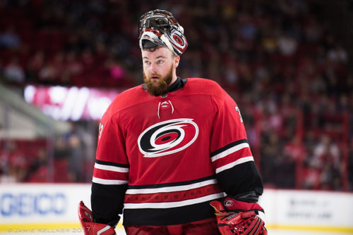 Gm32 Vs. Clu: Canes ride stellar outing from Scott Darling to win over Jackets and 3-game winning streak