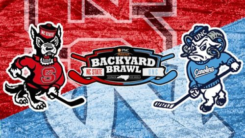 Recap of NC State Icepack's 5-3 win over Carolina Hockey in Backyard Brawl 2