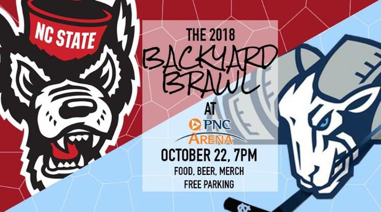 Game preview for 2018 Backyard Brawl: Carolina Hockey vs. the NC State Icepack
