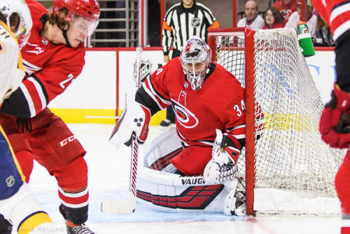 Gm32 Vs. Ari: Canes ride Petr Mrazek shutout to much-needed win over Arizona