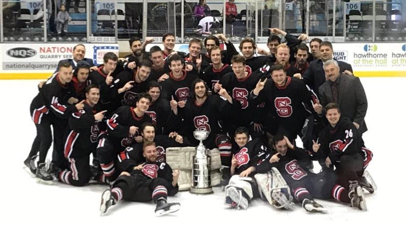 Local Hockey Check In: NC State Takes Home ACCHL Title