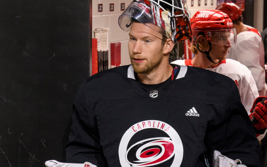 2020 NHL Playoffs — Gm3 @NYR: James Reimer leads Canes to win and series sweep
